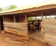 Time bomb as Pupils of Akrofoah D/A School study under death trap
