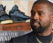 Kanye West's sneakers goes for $1million, the most expensive in the world