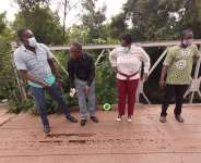 Ga East MCE inspects deteriorating Haatso Mabey Steel Bridge