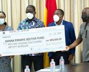 Ghana Missions abroad donate $59K to Ghana Covid-19 Private Sector Fund