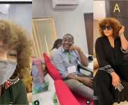 It was reunion as veterans Omotola Jalade, Emeka Ike meet after several years