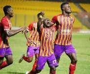 Club Friendly: Hearts of Oak thump Banana Inn FC 4-1 as preparations for Karela Utd game continues