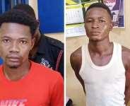 suspects Subik Partuta Matthew and Maxwell Disong