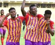 GHPL: Hearts of Oak move to third after delightful 2-0 win against Aduana Stars