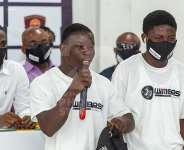Boxing fans storm 'James Town Fight Night' Presser