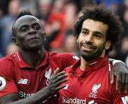 African players in Europe: Salah, Mane finally combine for goal