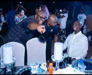 EXCITED REACTION!!! Ned Nwoko Laughs Loudly As Abuja ComedianShortcut Cracks Him Up
