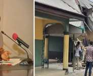 Governor Wike and the demolished hotel in Rivers State