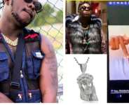 Medikal Splash Picture Of His 'Jesus' Chain Thief