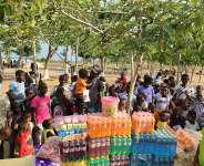 Kasoa: American-Ghanaian Artiste Prince Ohene-Ntow supports Royal Seed Orphanage