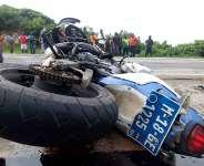 Motor Rider Crashed To Death