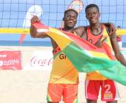 Ghana Beach Volleyball Team Congratulated By African Volleyball Confederation