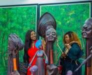 Nike Davies Crowns Yvonne Jegede As Erelu Of Nollywood