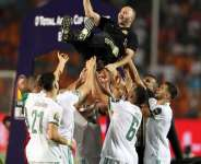 Coach Djamel Belmadi Admits Algeria Didn't Play Very Well Against Senegal In Final