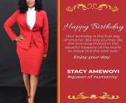 Meet Stacy Amewoyi; The Indefatigable Rock