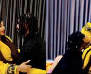 Angela Okorie romantic photos with her new found love surfaces online.