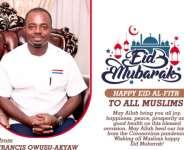 Happy And Peaceful Eid al-Adha - Francis Owusu-Akyaw To All Muslims