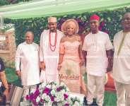 Celebrity Glamour As Ned Nwoko, Football Legends, Others Storm Chukwuebuka Anyaduba and Fiancee Wedding