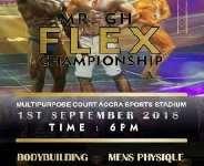 Mr GH Flex Bodybuilding Championship Slated For September 1