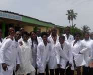 Fig 1 .1st batch Naturopathic Medical Students at Nyarkotey College of Holistic Medicine, Tema C7