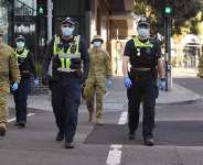 Troops called in to enforce tougher Covid-19 lockdown in Australian state