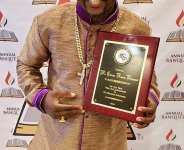 Ghanaian Ministers Fellowship Honored Mr. CNN In NY