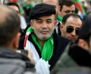 Algerian opposition figure Mohamed Larbi Zeitout pictured in January 2020 in Berlin.  By John MACDOUGALL (AFP/File)