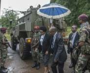 Ivy Kamanga, one of Malawi's five constitutional court judges, who were given an armoured military escort on February 3 when they made their historic ruling.  By AMOS GUMULIRA (AFP/File)