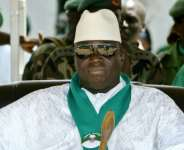 Jammeh ruled The Gambia for more than 22 years before fleeing to Equatorial Guinea after an election defeat.  By Seyllou (AFP)