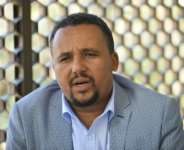 Jawar Mohammed, pictured in October 2019.  By Michael Tewelde (AFP)