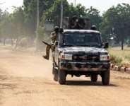 Nigerian army has been battling a jihadist insurgency in the northeast for more than a decade.  By Audu Marte (AFP)
