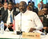 Rumours surfaced that Weah could use the changes to bid for a third term, despite a two-term limit for presidents.  By Kola SULAIMON (AFP/File)