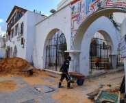 Substantial work is underway to restore the Libyan capital's old city to something like its former glory.  By Mahmud TURKIA (AFP)