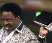 TB Joshua's YouTube channel had more than 1.8 million subscribers and 600 million views.  By PIUS UTOMI EKPEI (AFP/File)