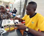 Telecoms operators have been told to register users to help prevent SIM cards being used for crime or jihadism.  By PIUS UTOMI EKPEI (AFP)