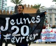 Ten years after Morocco's short-lived protests erupted as part of the Arab Spring, campaigners say rights in the kingdom are being rolled back and dissent is being silenced through smear tactics and fear.  By ABDELHAK SENNA (AFP/File)
