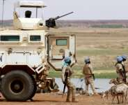 The UN force in Mali is one of the biggest peacekeeping operations in the world - it has also suffered more fatalities than any other Blue Helmet mission.  By Souleymane Ag Anara (AFP)