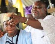 Oga Bello, Aluwe Finally End Age-Long Rift At Wedding Ceremony