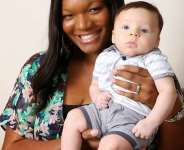 Black Nigerian woman gives birth to white baby [Photos]