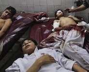 Victims school Students of Talibans Attack