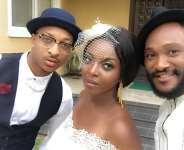 "Photos: Behind the scenes of ""Ghana Must Go"" – Yvonne Okoro's new movie"