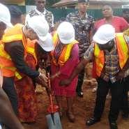 Abokobi: Adwoa Safo Cuts Sod For Construction Of OPD