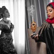 US Born Beauty Queen, Krystal Okeke Displays Fulani Costume As Unveils Her Official Wikipedia Page