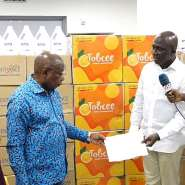COVID-19: Health Ministry Receives  GHS251,000 Worth Of Medical Supplies From Tobinco