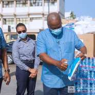 COVID-19: Mahama Supports Gov't With More PPEs To Hospitals Worth Ghc390,000