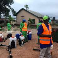 Disinfection Exercise Against COVID-19 In Atiwa East District