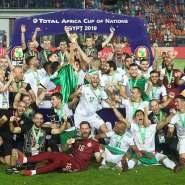 AFCON 2019: Africa Cup Champs Algeria Return To Hero's Welcome