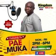 Kwaku Owusu Adjei Is New 'Pae Mu Ka' Political Host On Kingdom FM