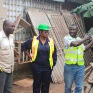 Musuku Culvert Under Construction - MCE Inspects Project And Assures Of Same In Other Areas To Address Flooding In The Municipality