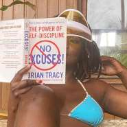 Ahouf3 Patri Urges Fans To Read More Books Using Bikini Pictures